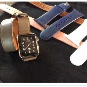 Authentic HERMES 1st generation Apple Watch, 38mm